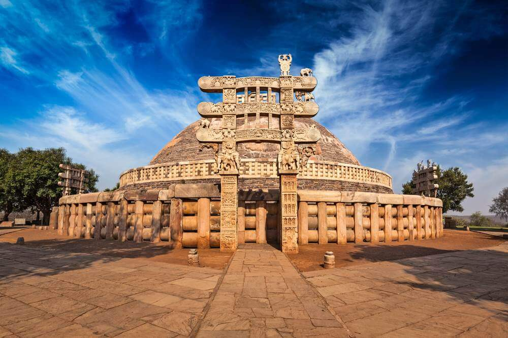 Sanchi Stupa Wallpaper Hd: The Great Stupa At Sanchi (Video) • The Mysterious India