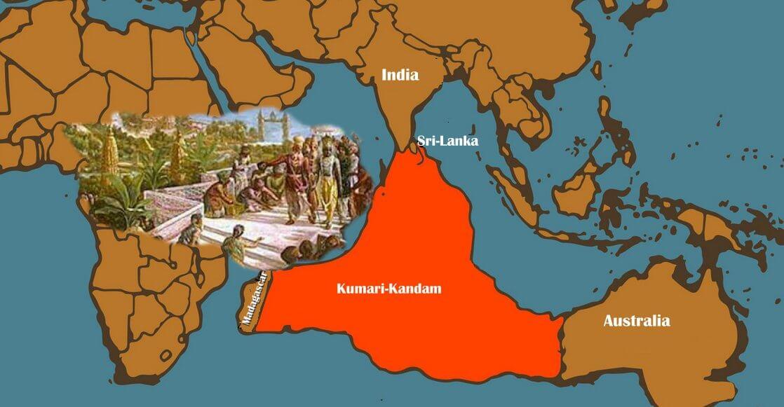 Lost Continent of Kumari Kandam