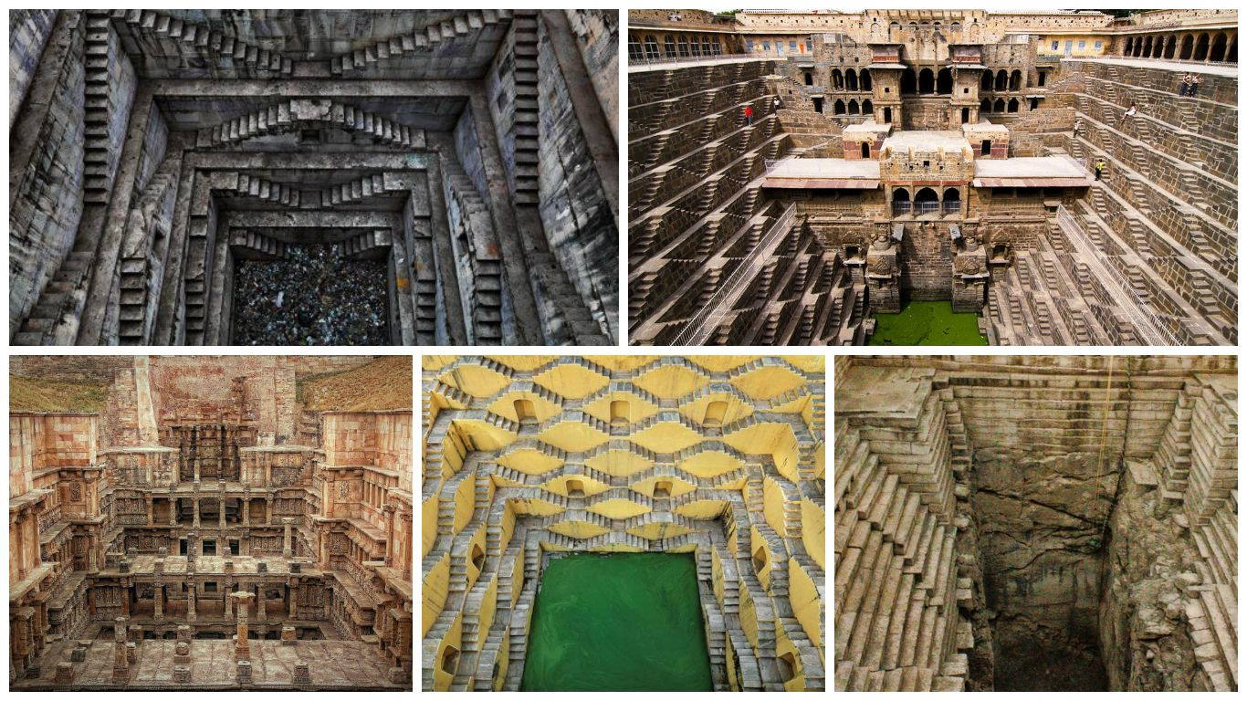 Most Beautiful Stepwells In India