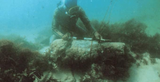 Underwater Ruins of Dwarka