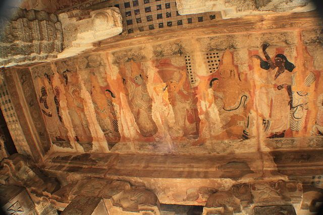 Art work at Lepakshi temple