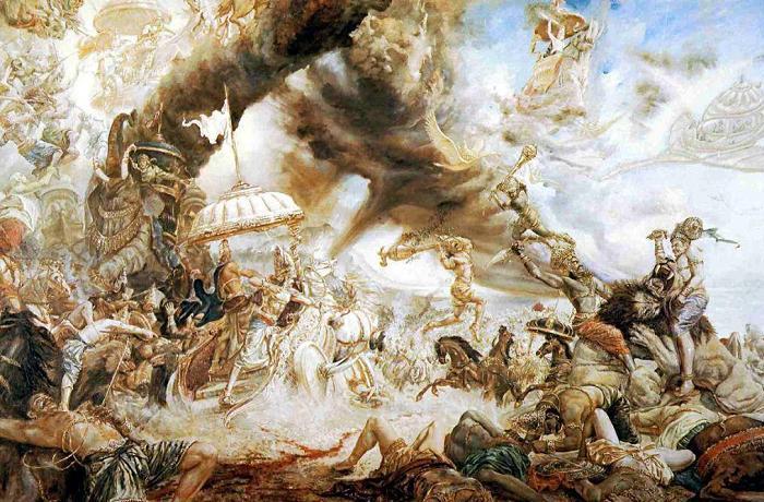 Battle of Devas and Asuras