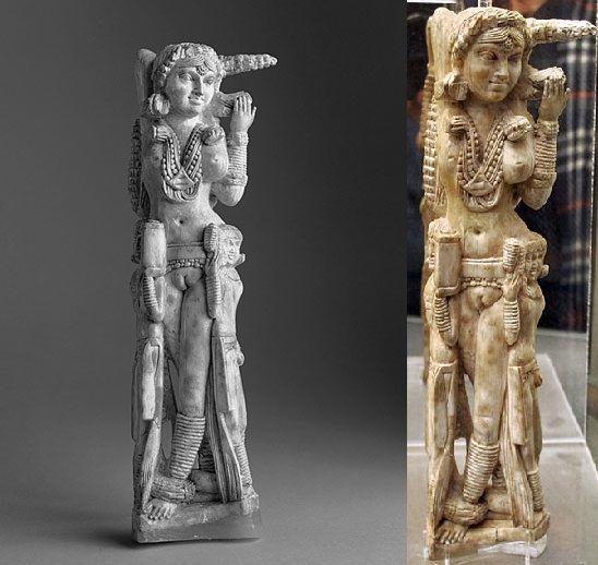 Hindu Goddess Lakshi's Statue in Pompei