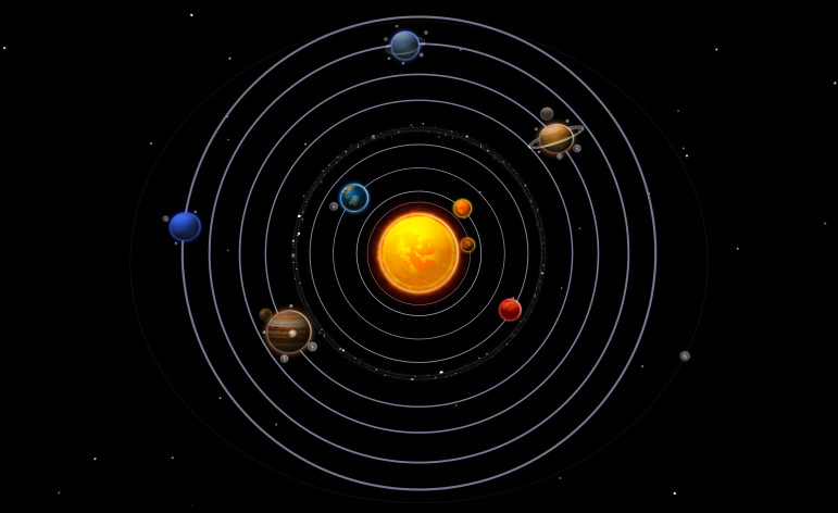vedas solar system