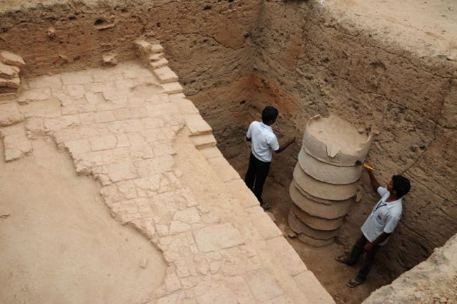 Excavation at Madhurai 2015