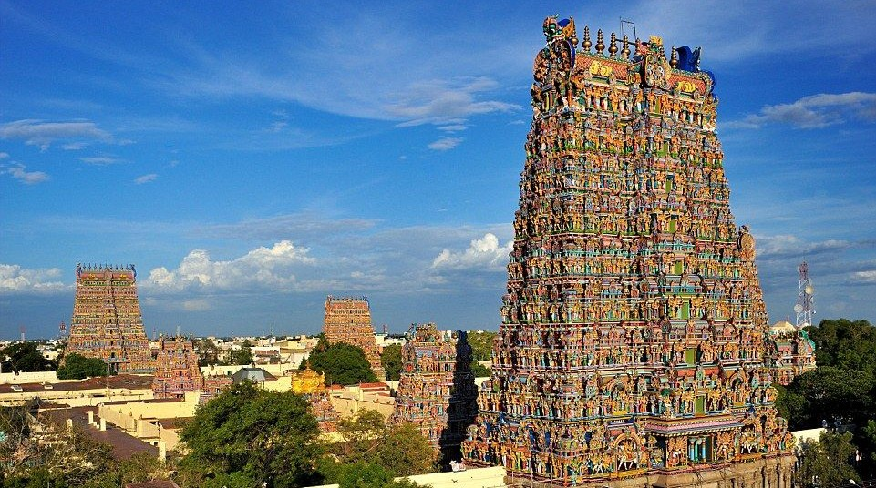 The Meenakshi Temple Of Madurai The Mysterious India
