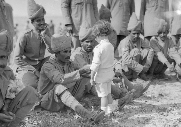 Indian soldier in world war I