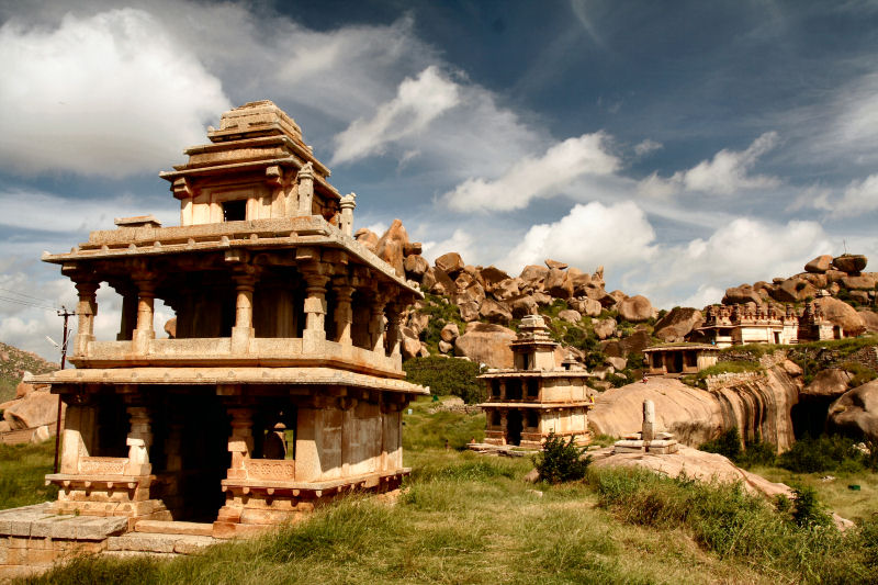 Temples at Chitradurga fort, Karnataka
