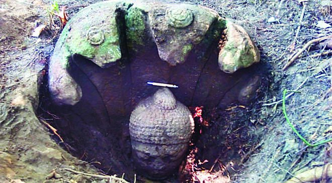 1400-year-old Buddha idol unearthed in Odisha