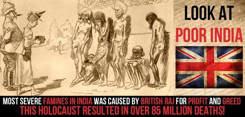 How British Distorted Indian History