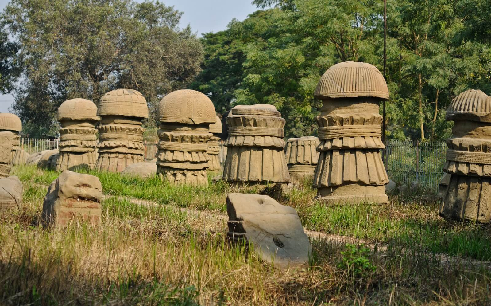 The Dimasa Kachari Ruins, Nagaland, india