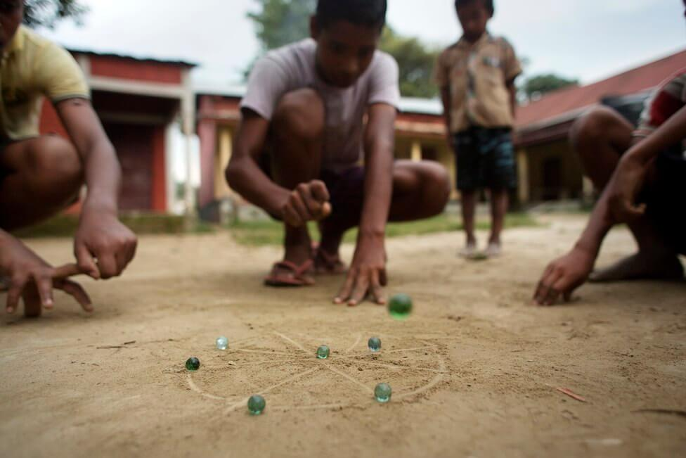 traditional indian game Marblesgame