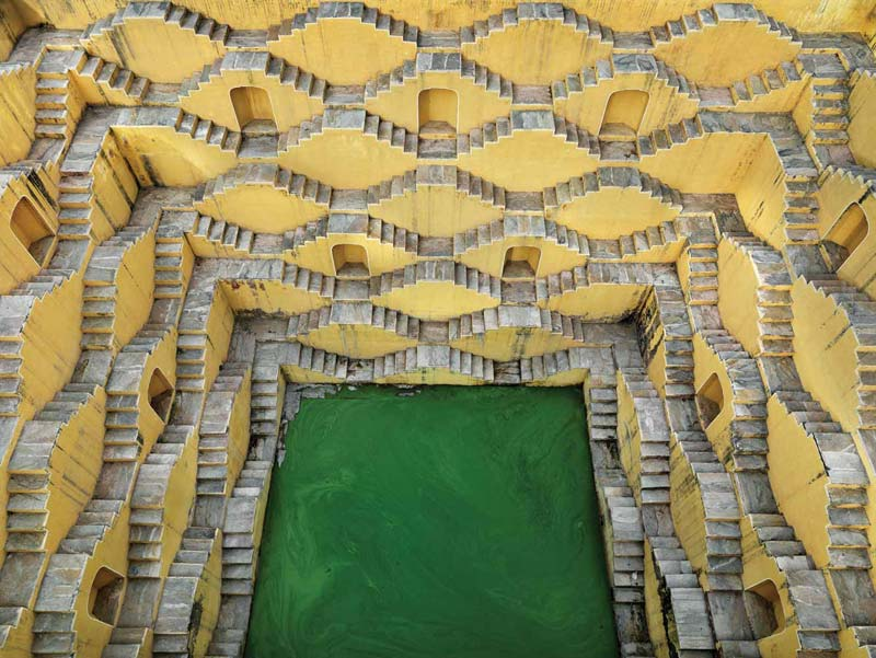 Panna Meena Ka Kund, Amer, Rajasthan
