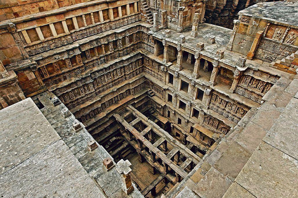 Stepwell Rani ki Vav, Patan, Gujarat, 11th century AD