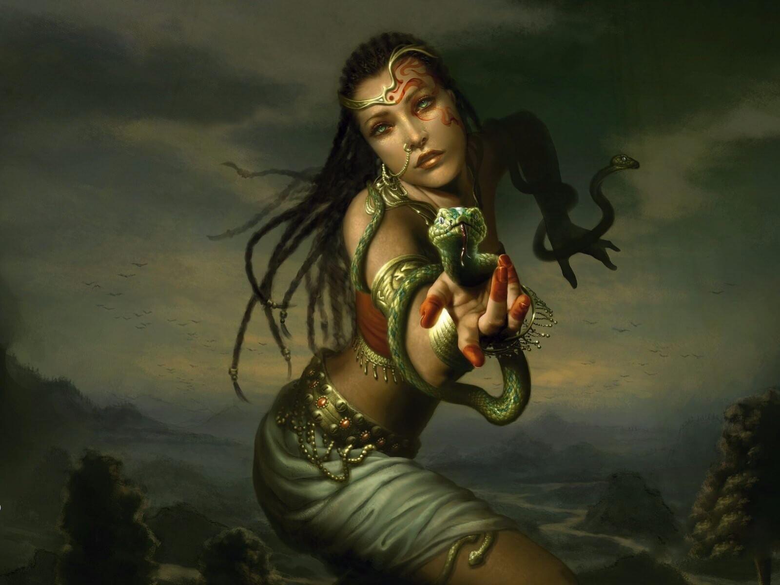The Venomous Visha Kanyas
