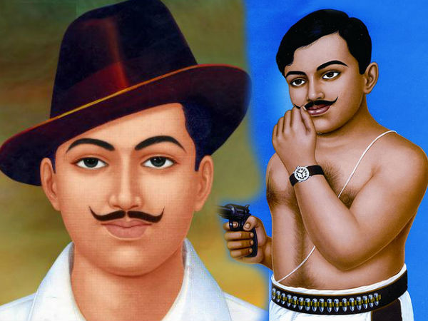 Azad and bhagat singh
