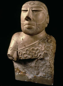 The 'Priest-King of Mohenjo-Daro' statue, from the Indus Valley Civilization