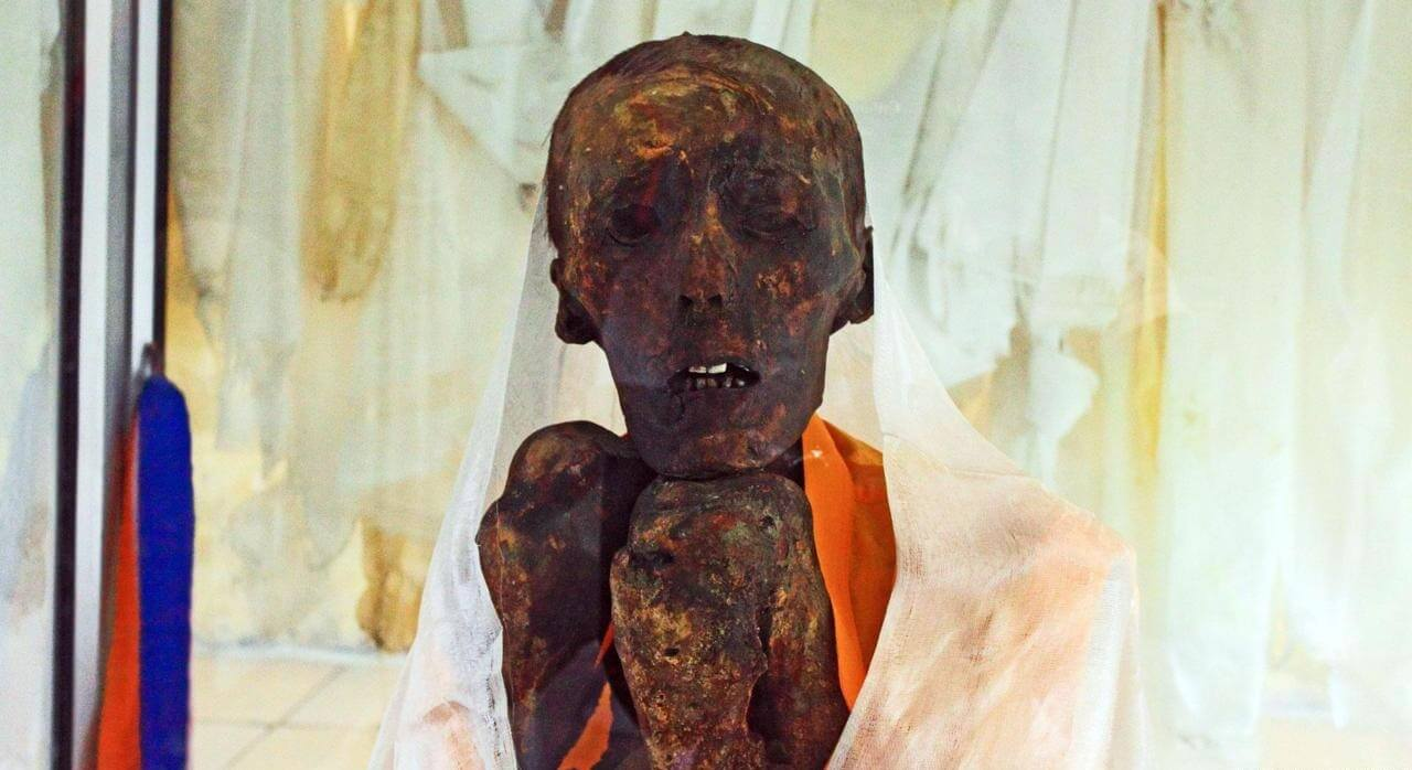 The Gue Mummy of Lama Sangha Tenzin, India